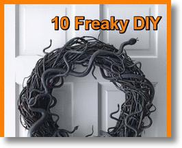 Freaky DIY Halloween Decor