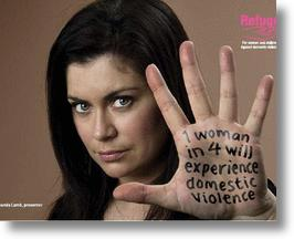 1 in 4 Women Will Suffer Domestic Violence