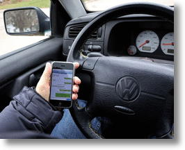 Texting Detector Could Help Police Catch Illegally Texting Drivers