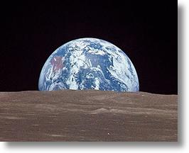 Full Earthrise HD Video From Japan's Kaguya Lunar Orbiter