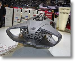 EDAG Genesis: Turtle Shell Style 3D-printed Auto Body Concept