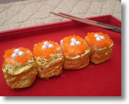 World's Most Expensive Sushi For Those Who Chews Gold