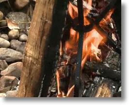 A Fire Using The IncinerGrate