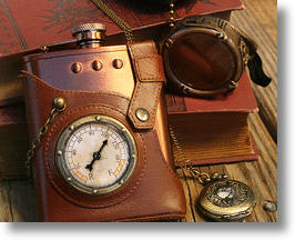 Capt. Jules Everlasting Steampunk Flask