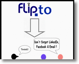 Flip.to social media tool
