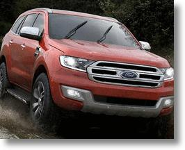 New 2015 Ford Everest SUV Peaks Interest At Its Chinese Debut