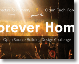 Build a sustainable home for one, win $500!
