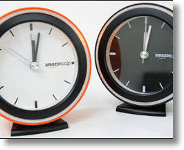 Amazon Japan Limited Edition Analog Alarm Clock