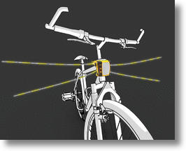 VibriSee glowing bike whiskers