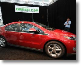 GM Reuses Gulf Coast Oil Spill Materials for Chevy Volt Parts