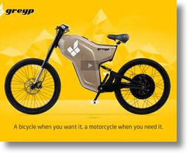 Greyp G-12 Electric Bike from Rimac