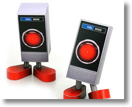 Free Paper Craft HAL 9000 Struts His Stuff on Your Desktop