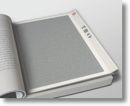 Haptic Reader - useful and technologically slick.