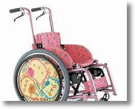 Hello Kitty Wheelchair Adds Anime To Injury