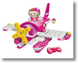 Using Mega Bloks to build Hello Kitty's world!