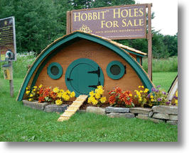 Hobbit Hole Chicken Coop