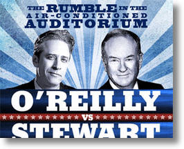 Jon Stewart vs Bill O&#039;Reilly To Beat The Obama-Romney Debates?