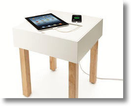 Hub Table For Charging Your Electronics