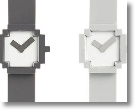 Icon Watch Design Echoes Early Computer Graphics