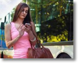 Smart Phone In use