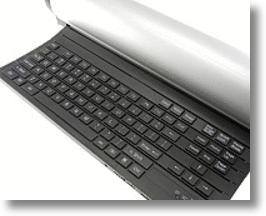 Roll-Up Remote Control Speaker Keyboard for Well Rounded Types
