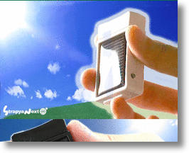 Mini Solar Cell for Free, Portable Cell Phone Charging
