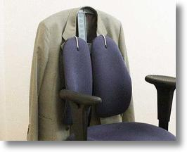 Chair Back Coat Hanger Keeps Jackets Close, Clean & Crease-Free
