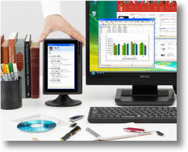 Buffalo FTD-W71USB Secondary LCD Monitor Gives You Extra Screen Time