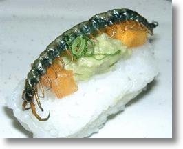 Stranger Than Sushi: The Buzz on Japanese Insect Foods