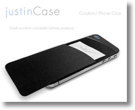 justinCase: This iPhone Case Wants You To Practice Safe Sex