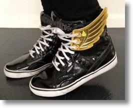 Shwing Sneaker Wing Accessories Add Lift To High-top Lace-ups
