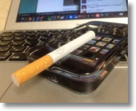 iPhone Ashtray is One Smoking Hot Smartphone!