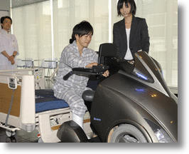 Hi-tech Electric Wheelchair of the Future Promises Greater Mobility