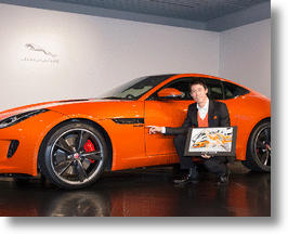 Jaguar F-Type Kei Nishikori Edition Courts Car-Driving Tennis Fans