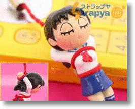 Bound Japanese Girl Cell Phone Charms Have Strings Attached