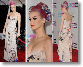 Katy Perry&#039;s AMA Dress: Wearable Propaganda or Fashion Foible?