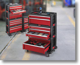 Keter 7-drawer tool set system