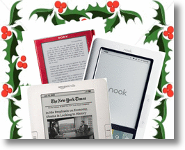 Kindle vs Nook & Sony e-Reader for the Holidays