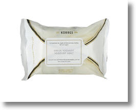 Korres Greek Yoghurt Facial Wipes