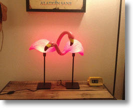 The Flamingo Lamp