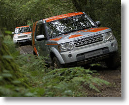 Land Rover Experience Offers Off-Roading On Land Rover's Eastnor Test Track