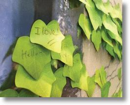 Leaf Post-It Notes