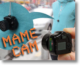 Meet 'Mame Cam', the World's Smallest Micro Replica DSLR Camera