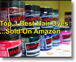 Top 3 Hair Dyes