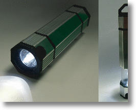 NoPoPo Eco Flashlight Lights Up On Liquids
