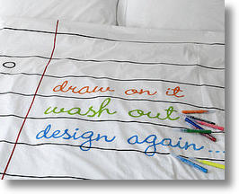 Doodle Duvet