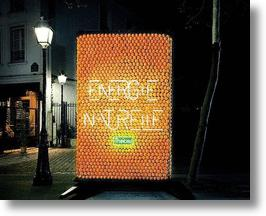 See It To Believe It: Orange-Powered Billboard
