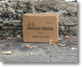 American Freedom, Made In China? Them's Fightin' Words!