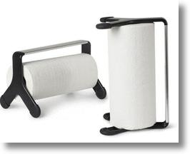 Work with Umbra to design a modern paper towel holder for cash!