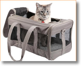 Sherpa Original Deluxe Pet Carrier and Safety Suite